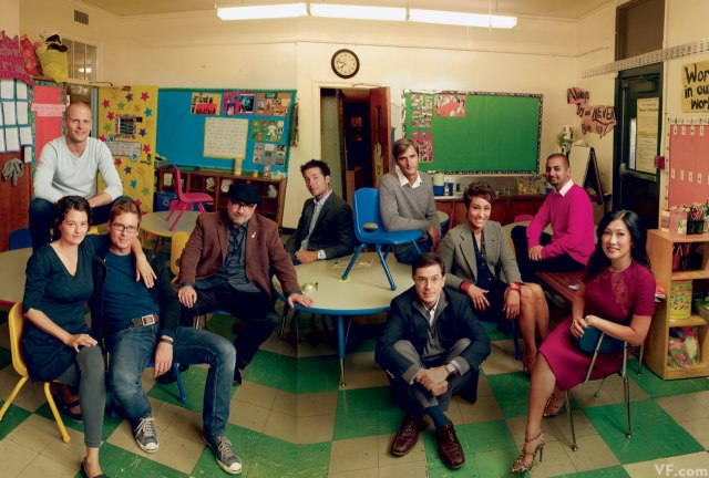 Vanity Fair photo shoot with DonorsChoose.org. Photo Credit: Annie Leibovitz