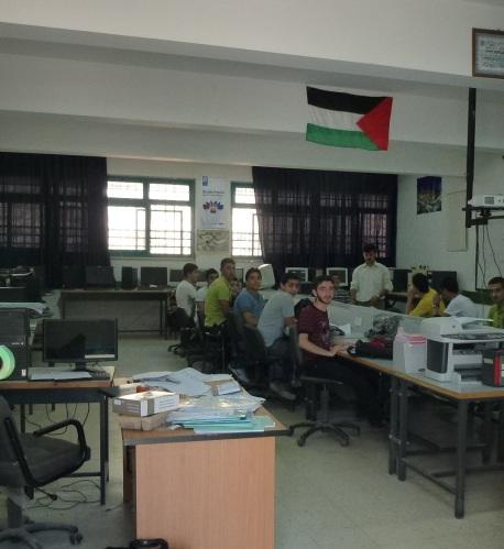 palestine nablus students